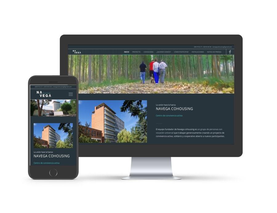 Diseño web para navegacohousing.com