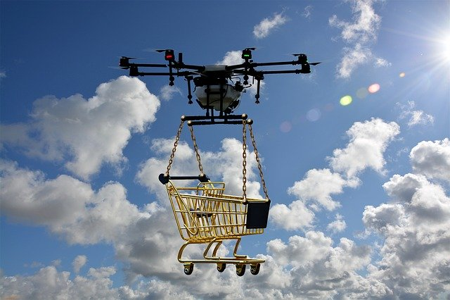 Drones, la ayuda que nos llega volando