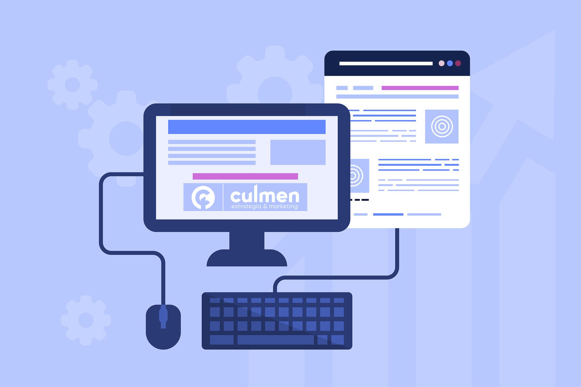 Las tendencias de diseño web en 2020. Culmen estrategia & marketing